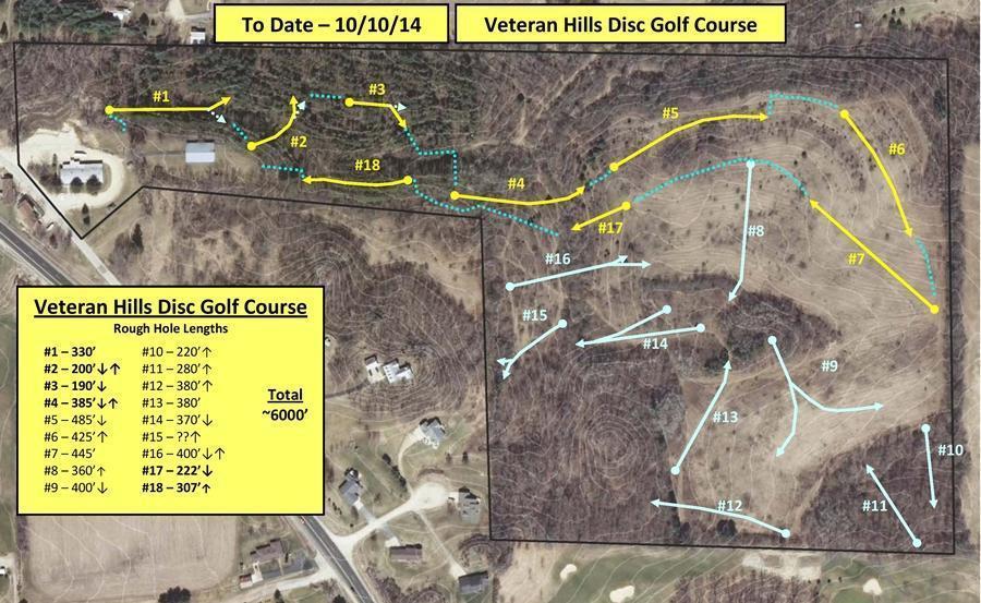 Veteran Hills Disc Golf Course