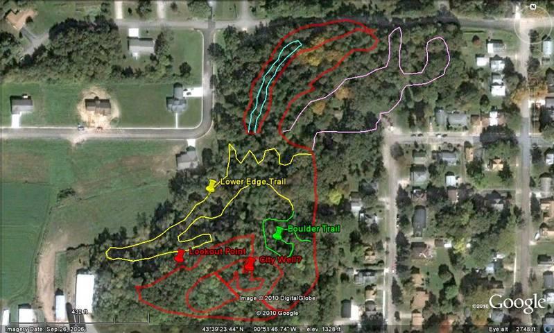 Davidson Park Trail System