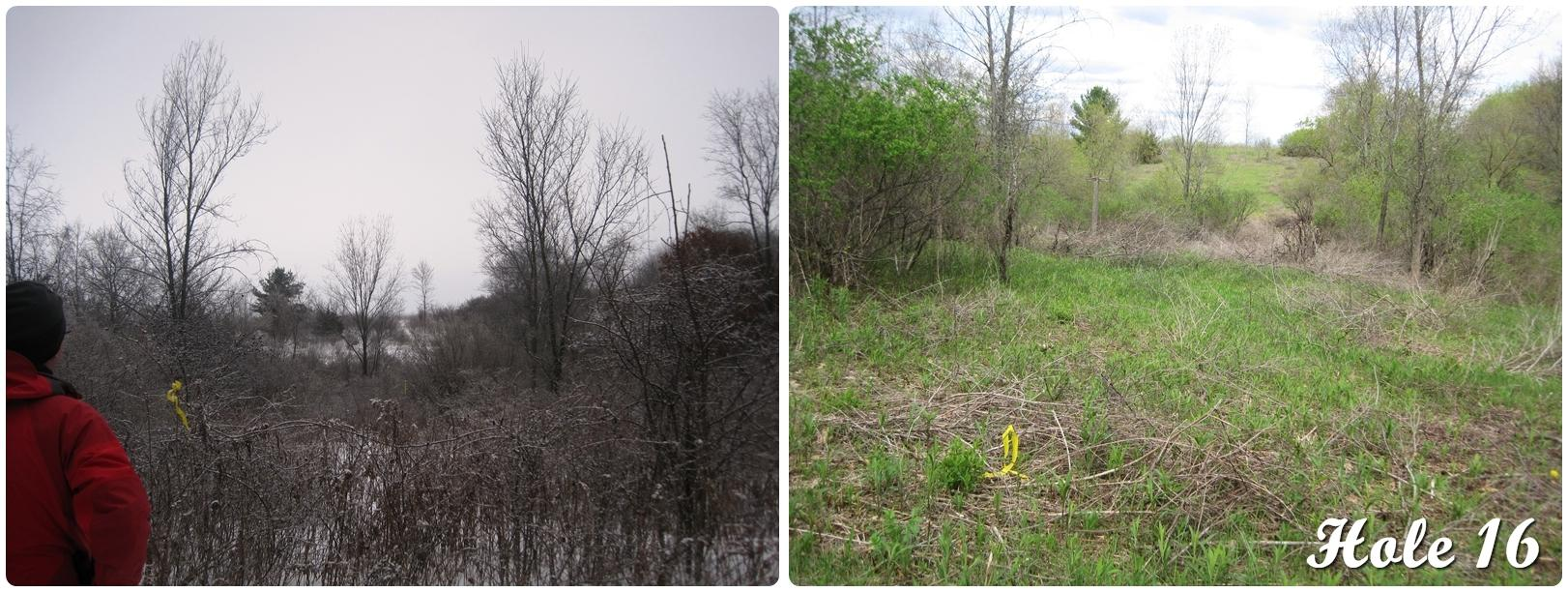 Hole 16 Before & Now