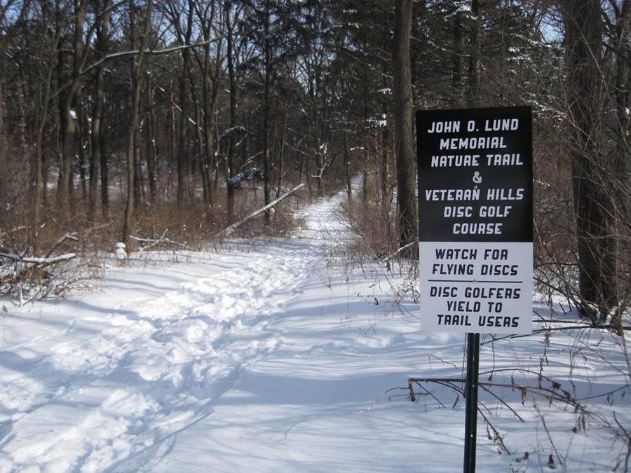 Course and trail sign