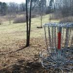 Hole 13 from basket