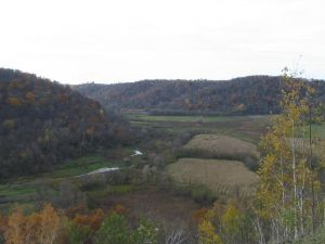 Sidie Hollow overlook